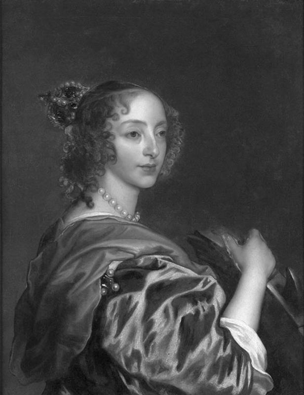 Antoon van Dyck:  un pictor de curte