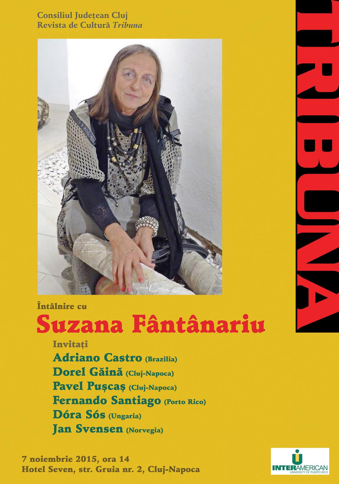 Întâlnire cu Suzana Fantanariu