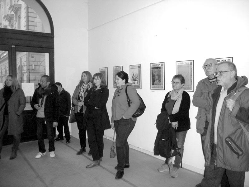 Tribuna. Arta pe prima pagină la Budapesta