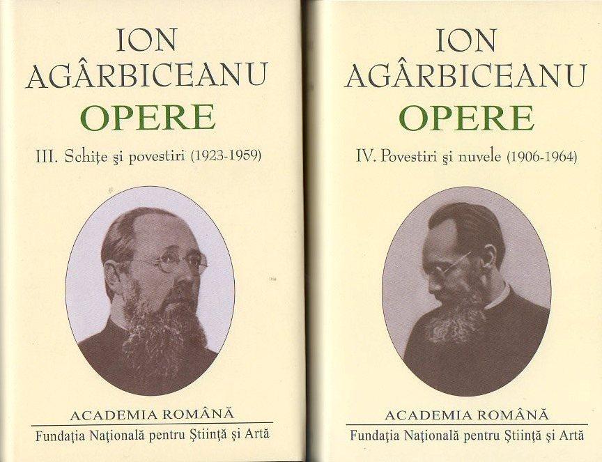 Ion Agârbiceanu  într-o ediție restitutivă