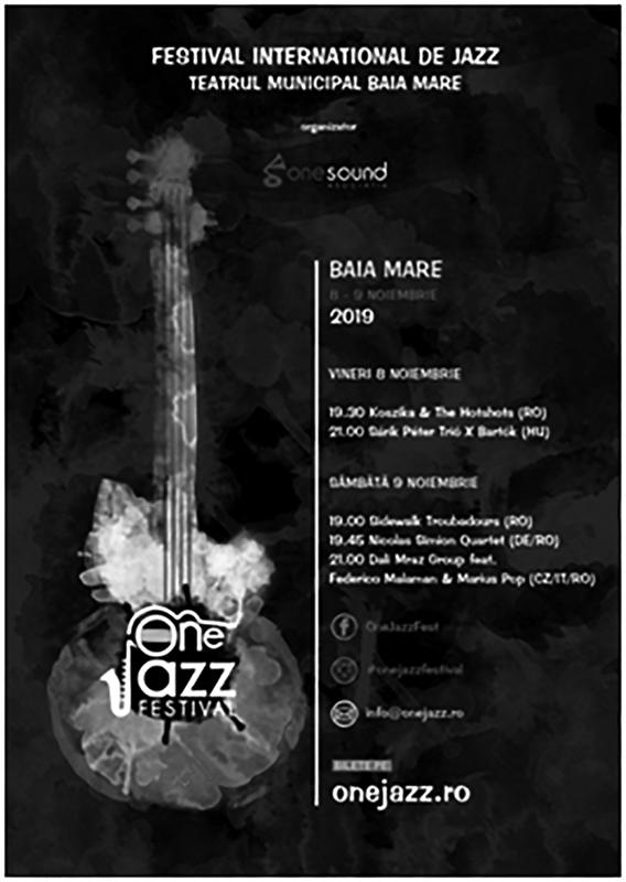 "Cuvânt înainte la  ""One Jazz Festival"" – Baia Mare"