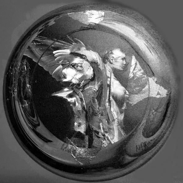 Reflectare într-o oglindă spartă