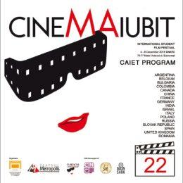 Festivalul Internațional de Film Studențesc Cinemaiubit 2018