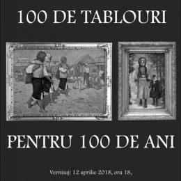 100 de tablouri pentru 100 de ani
