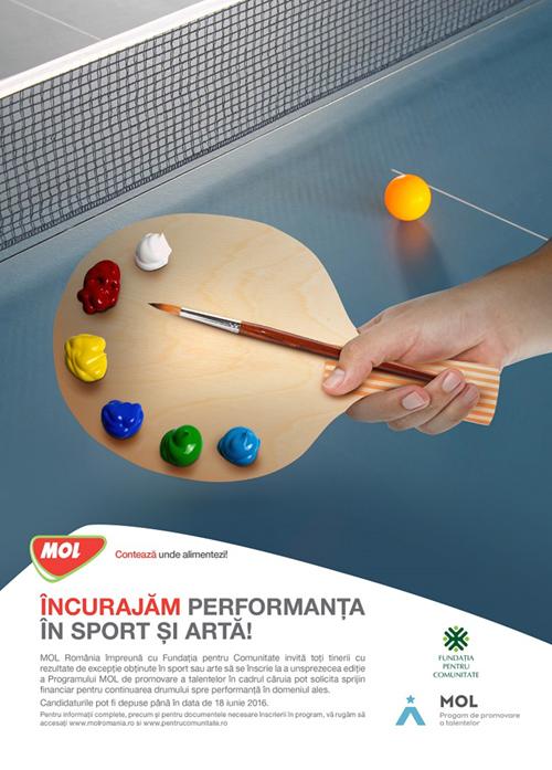 MOL România oferă 350.000 lei tinerilor sportivi și artiști  prin Programul de promovare a talentelor, ajuns la a 11-a ediție