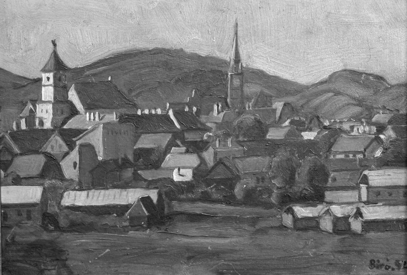 Lucrările pictorului martir József Biró revin la Cluj după aproape opt decenii