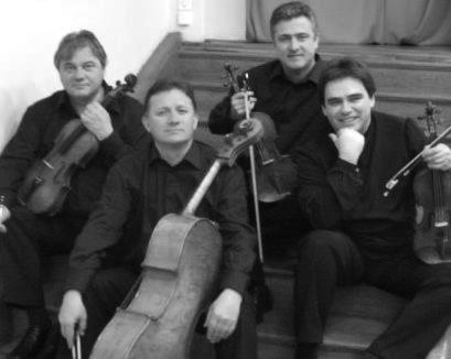 Cvartetul Transilvan în vestmânt muzical festiv