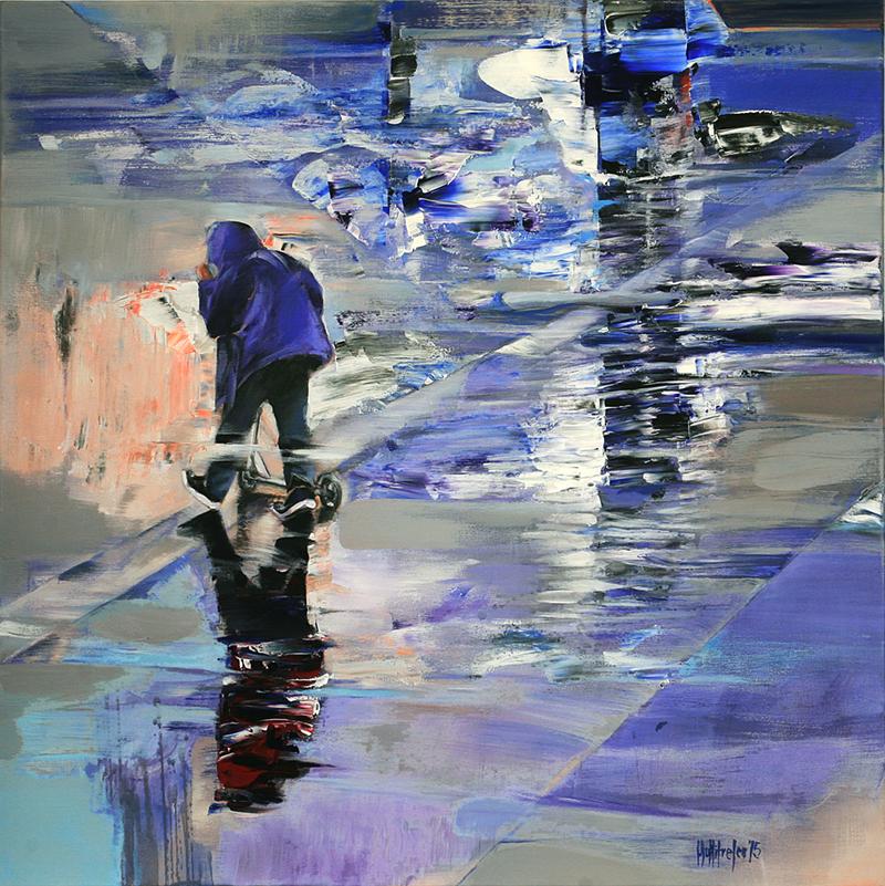 Mişcarea abisală şi decorporalizarea în pictura lui Sorin Dumitrescu Mihăeşti