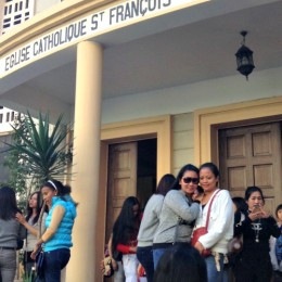 Catholic Church Mothering Weary Filipino Mothers in Beirut