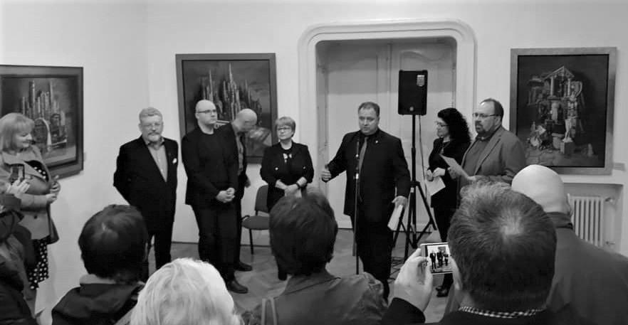 """""""Lumea ca alegorie și mit""""  a lui Michael Lassel rămâne  la Cluj până pe 15 martie"""